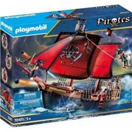 Playmobil® 70411 - Pirates - Totenkopf-Kampfschiff