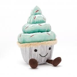 Minty Cutie Cupcake