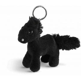 NICI - Soulmates - Pferd Black Cassis, 10cm Schlüsselanhänger, stehend