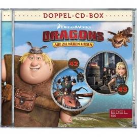 Edel:KIDS CD - Dragons im Hörspiel-Doppelpack, 42 und 43