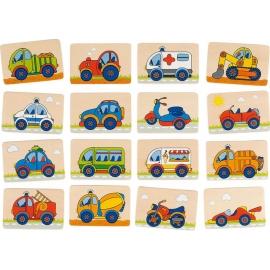 GoKi Memospiel Fahrzeuge
