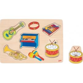 GoKi Soundpuzzle Musikalien, mit Instrumenten