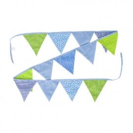 GoKi Wimpelkette blau-grün