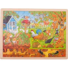 GoKi Einlegepuzzle Unser Garten über und unter