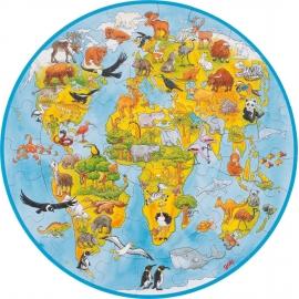 GoKi XXL Puzzle Welt