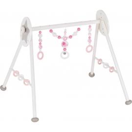 GoKi Baby-Fit Elefant rosa, Greif- und Spieltrainer