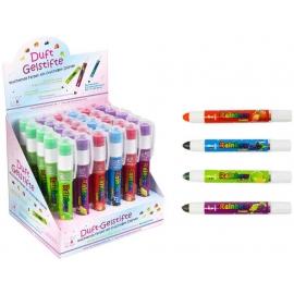 Gel Stifte mit Fruchtgeruch 6 Farben (30)