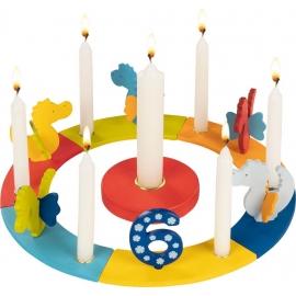 Standard Geburtstagskranz Drachen
