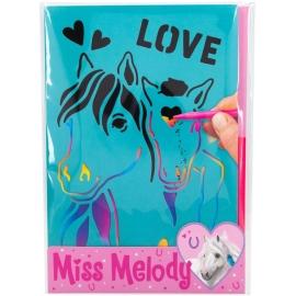 Depesche 10945 Miss Melody Rubbelbilder