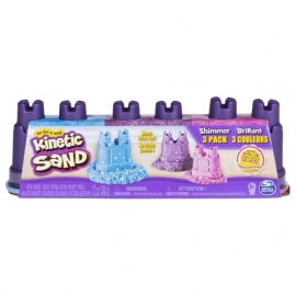 Spin Master Kinetic Sand Shimmers Multi Pack