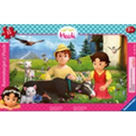 Ravensburger 05071 Puzzle Gemeinsam auf der Alm 15 Teile