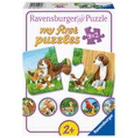 Ravensburger 05072 Puzzle Tierfamilien auf dem Bauernhof 9x2 Teile