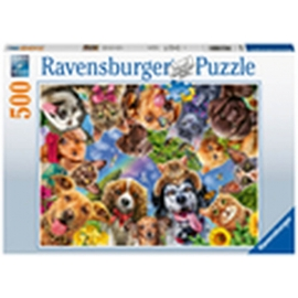Ravensburger 15042 Puzzle Unsere Lieblinge 500 Teile