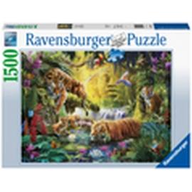 Ravensburger 16005 Puzzle Idylle am Wasserloch 1500 Teile