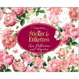 Stickerbuch Jane Austen - Sticker & Etiketten (M. Bastin)