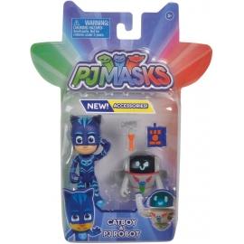 Simba PJMASKS Figuren Set Catboy + PJ Robo