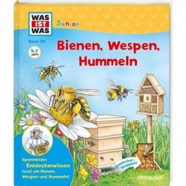 Tessloff - Was ist Was Junior - Bienen, Wespen, Hummeln, Band 34
