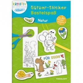 Tessloff - Glitzer-Sticker Bastelspaß - Natur