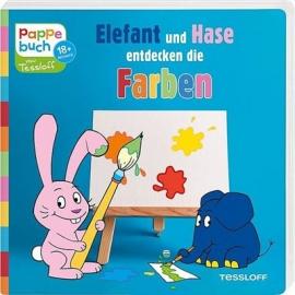 Tessloff - Elefant und Hase entdecken die Farben, Pappebuch