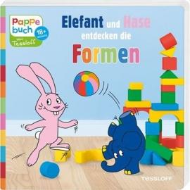 Tessloff - Elefant und Hase entdecken die Formen, Pappebuch