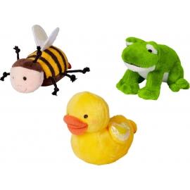Frosch, Ente, Biene zum Aufziehen Fröhliche Ostern, sortiert