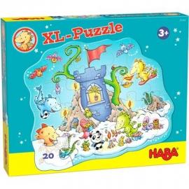 HABA® - Puzzle Drache Funkelfeuer, 20 Teile