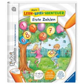 Ravensburger Buch - tiptoi - Mein Lern-Spiel-Abenteuer - Erste Zahlen