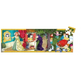 Formen Puzzle: Snow white - 50 Stk. *