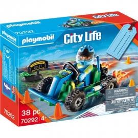Playmobil® 70292 - City Life - Geschenkset Go Kart-Rennen