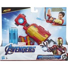 Hasbro - Marvel Avengers Iron Man Repulsor-Blaster Handschuh mit Nerf Darts
