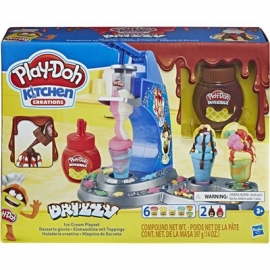 Hasbro - Play-Doh - Drizzy Eismaschine mit Toppings