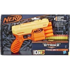 Hasbro - Nerf Fang QS-4 Nerf Alpha Strike Spielzeug-Blaster -- inklusive zehn Nerf Elite Darts -- fü