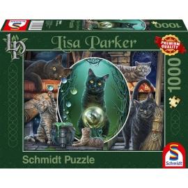 Schmidt Spiele Puzzle Magische Katzen 1000 Teile