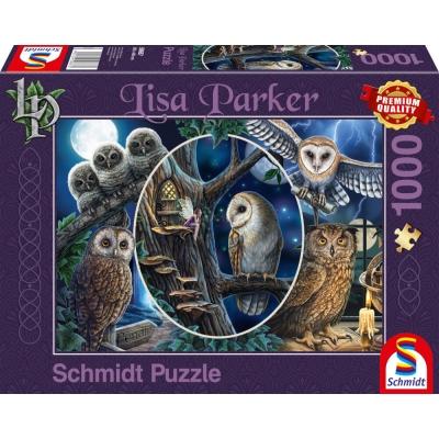 Schmidt Spiele Puzzle Geheimnisvolle Eulen 1000 Teile