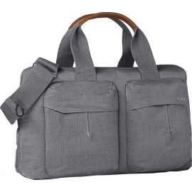 Uni² Wickeltasche Radiant grey