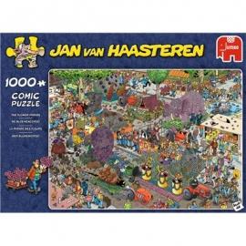 Jumbo Spiele - Jan van Haasteren - Die Blumen Parade - 1000 Teile