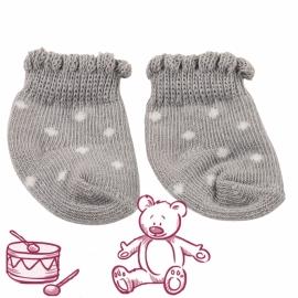 Bc Socken Grau/Weiß 30-50Cm