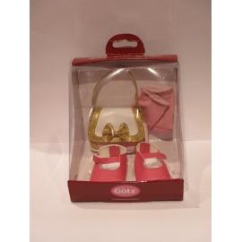 Tasche/Pink Mary Janes 50Cm