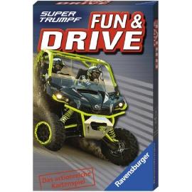 Ravensburger Spiel - Supertrumpf Quartett Fun and Drive