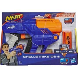 Hasbro - Nerf Elite Shellstrike DS 6