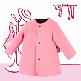 Mantel pink Gr. M/XL
