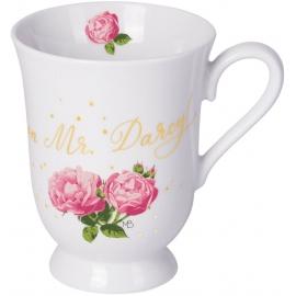 Porzellan-Tasse Jane Austen Rosenträume (M. Bastin)