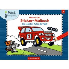 Mein 1.Sticker-Malb.: Die coolsten Autos d.Welt (M-Künstler)
