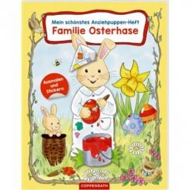 Coppenrath Verlag - Mein schönstes Anziehpuppen-Heft - Familie Osterhase