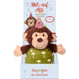 Die Spiegelburg - BabyGlück - Steh-auf-Affe mit Glockenspiel