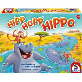 Schmidt Spiele - Hipp Hopp Hippo