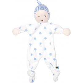 Mein erstes Schmusetuch BabyGlück, hellblau