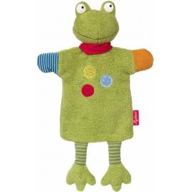 sigikid - Handpuppe-Schnuffeltuch Flecken Frog