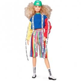 Mattel - Barbie BMR1959, voll bewegliche Barbie Modepuppe mit blonden Locken