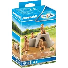 Playmobil® 70349 Erdmännchenkolonie